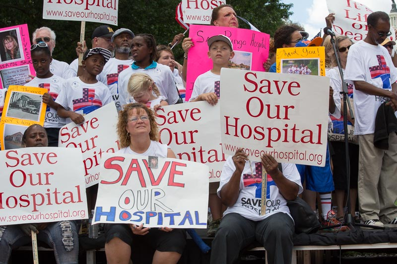Rally to save Belhaven Hospital and all rural hospitals.