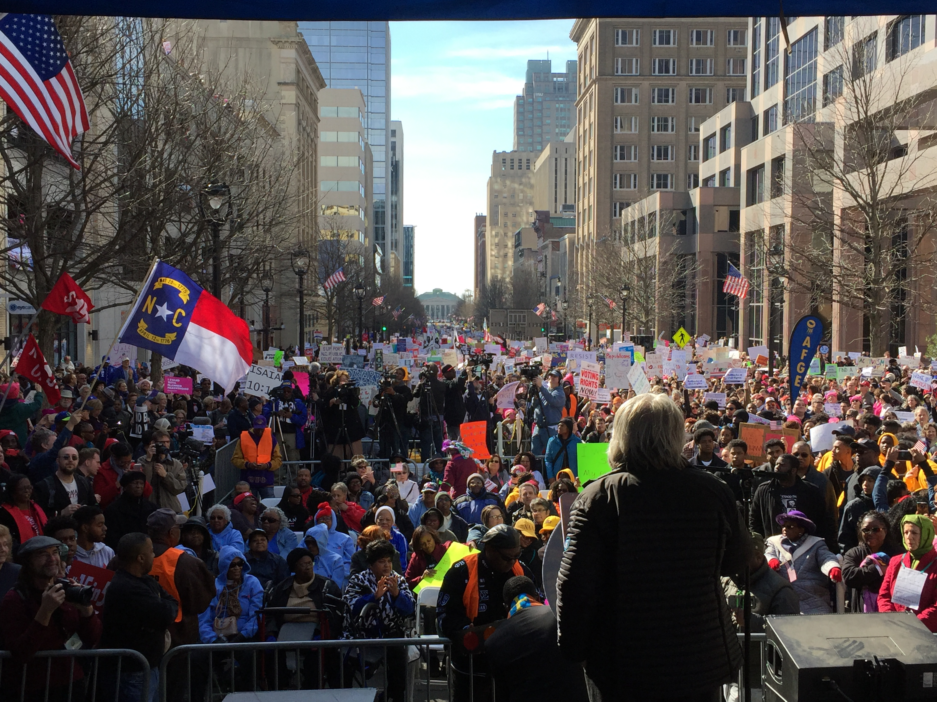 The 2017 Moral March in Raleigh, NC.